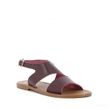 Whitesun Sandales en cuir Whitesun marron Nouveautés Promos