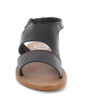 Whitesun Sandales en cuir Feijoa noir 2020 Online