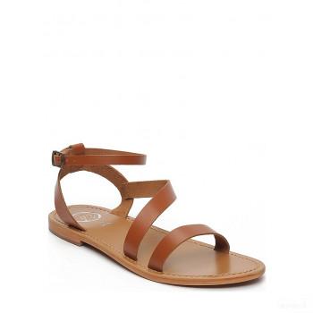 Whitesun Sandales en cuir Xigala marron clair En Soldes